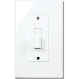 Picture of TAYMAC DECORA COVER TOGGLE SWITCH PLATE  - WHITE