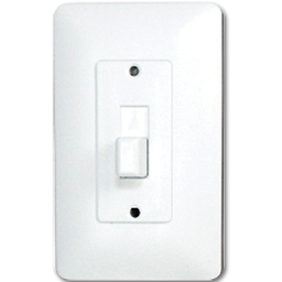 Picture of TAYMAC MASQUE TOGGLE SWITCH PLATE  - WHITE