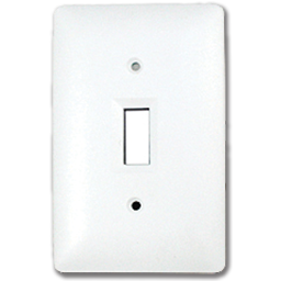 Picture of TAYMAC MASQUE SINGLE GANG TOGGLE SWITCH PLATE  - WHITE