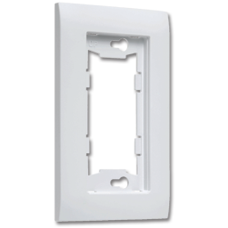 Picture of ALLURE™ SINGLE WALL PLATE - WHITE