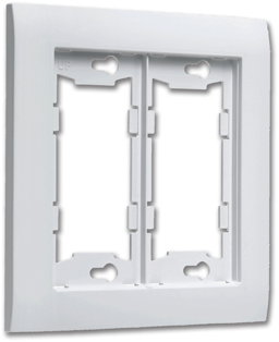 Picture of ALLURE™ DOUBLE WALL PLATE - WHITE