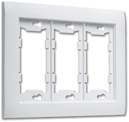 Picture of ALLURE™ TRIPLE WALL PLATE - WHITE