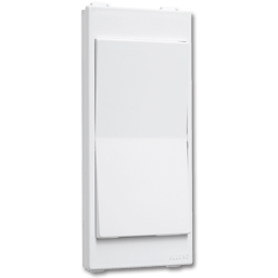 Picture of ALLURE™ DECORA ROCKER SWITCH INSERT - WHITE