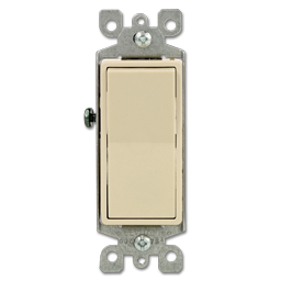 Picture of 15AMP DECORA WALL SWITCH - IVORY