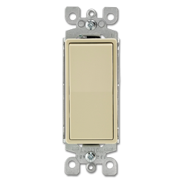 Picture of 15AMP DECORA 3-WAY WALL SWITCH - IVORY