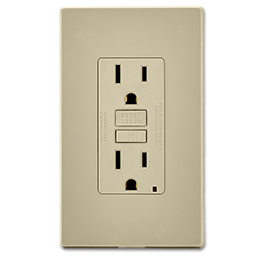 Picture of LEVITON SMARTLOCK PRO® 15AMP SELF TEST GFCI RECEPTACLE - IVORY