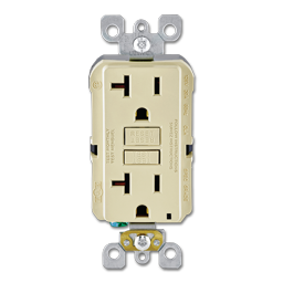 Picture of LEVITON SMARTLOCK PRO® 20AMP SELF TEST GFCI RECEPTACLE - IVORY