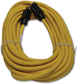 Picture of 12/3 GROUNDED 100' HEAVY DUTY EXTENSION CORD