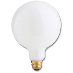 Picture of 60 WATT WHITE G25 VANITY BULB