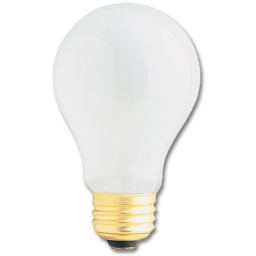 Picture of 75 WATT FROST A19 130V ROUGH SERVICE BULB - 120/CS