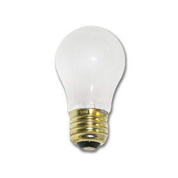Picture of 40 WATT FROSTED A15 APPLIANCE BULB - 12/PK