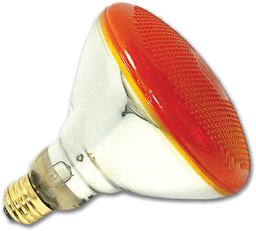 Picture of 100W BR38 RED OUTDOOR FLOOD BULB