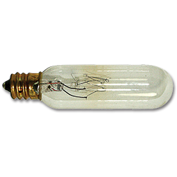 Picture of 15W T6 EXIT SIGN BULB - CANDELABRA BASE