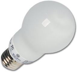 Picture of 14W A-SHAPED FLUORESCENT BULB - WARM WHITE