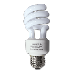 Picture of 13W CFL TWIST BULB - COOL WHITE