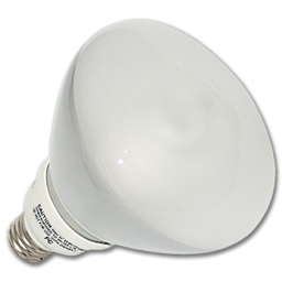 Picture of 23W R40/827 FLUORESCENT 1300 LUMENS REFLECTOR BULB - WARM WHITE