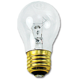 Picture of 40 WATT CLEAR A15 APPLIANCE BULB
