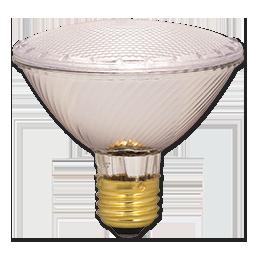 Picture of 60 WATT PAR30 HALOGEN LAMP 120V SHORT NECK 34* NARROW FLOOD