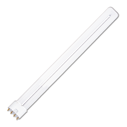 Picture of 24W SINGLE TUBE 4 PIN COMPACT FLUORESCENT BULB - 2G11 BASE WITH STRAIGHT PINS - WARM WHITE - 10/CS