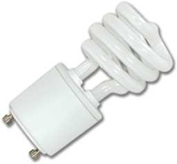 Picture of 13W MINI SPIRAL CFL BULB - GU24 BASE - COOL WHITE