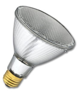 "Picture of 60W PAR30 HALOGEN LONG NECK FLOOD BULB 4-3/4"" LENGTH"