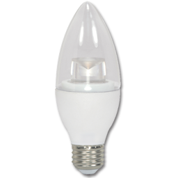 Picture of 5W CLEAR TORPEDO LED BULB - 5000K - MEDIUM BASE