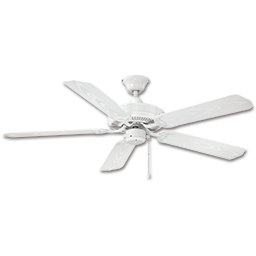 "Picture of 52"" DUAL MOUNT ALL WEATHER CEILING FAN, 5 BLADES - WHITE"