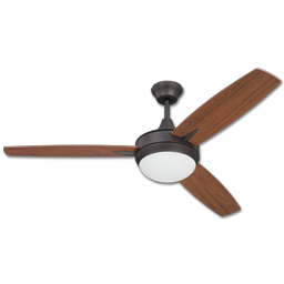 "Picture of 52"" 3 BLADE DUAL MOUNT CEILING FAN - ESPRESSO"