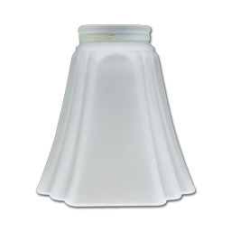 Picture of REPLACEMENT SQUARE FROSTED SHADE (GLASS ONLY) FOR 162057 & 162059