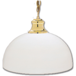 Picture of WHITE DOME STYLE LIGHT FIXTURE