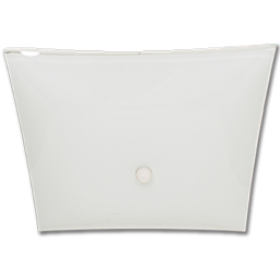 """Picture of 12"""" SQUARE BEDROOM FIXTURE - WHITE"""