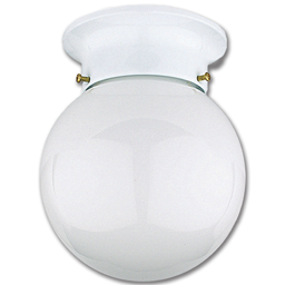 "Picture of 6"" HALLWAY CEILING FIXTURE - WHITE"