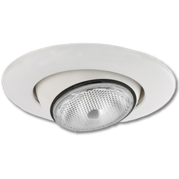 "Picture of 6"" RECESSED LIGHT DIRECTIONAL EYE TRIM"