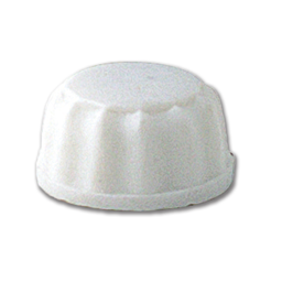 Picture of WHITE PLASTIC NUT - 12/PK