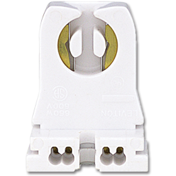 Picture of SNAP-IN FLUORESCENT LAMP HOLDER - 4/PK