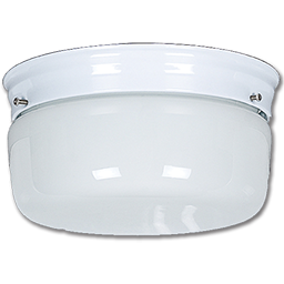 "Picture of 10"" OPAL DRUM FIXTURE - WHITE- PAN"
