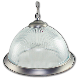 "Picture of WSL - 15"" DOME PENDANT FIXTURE - SATIN NICKEL"