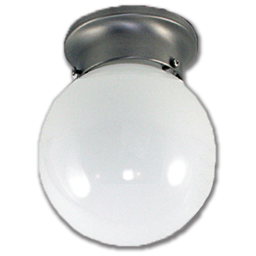 """Picture of 6"""" HALLWAY CEILING FIXTURE - BRUSHED NICKEL"""