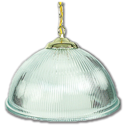"Picture of 15"" DOME PENDANT FIXTURE - POLISHED BRASS"