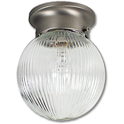 "Picture of 6"" BALL CEILING FIXTURE - SATIN NICKEL"
