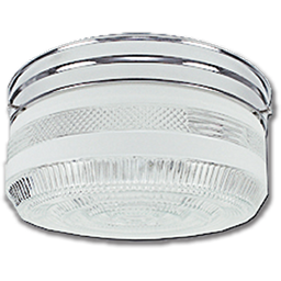 "Picture of 10"" CLEAR & CHROME DRUM FIXTURE"
