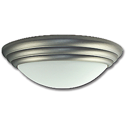 """Picture of 12"""" TWIST-ON CEILING FIXTURE - SATIN NICKEL"""