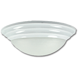 """Picture of 14"""" TWIST-ON CEILING FIXTURE - WHITE"""