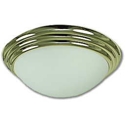 "Picture of 16"" TWIST-ON CEILING FIXTURE - POLISHED BRASS"