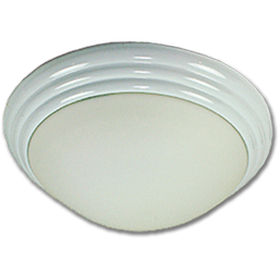"Picture of 16"" TWIST-ON CEILING FIXTURE - WHITE"