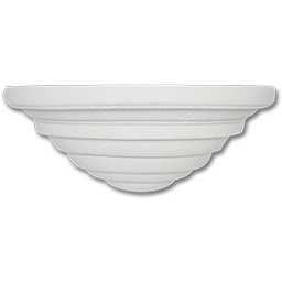 Picture of WHITE CERAMIC WALL FIXTURE