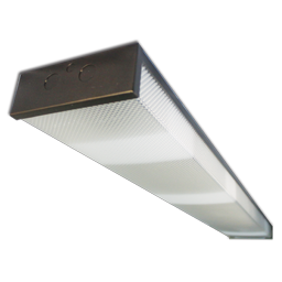 Picture of 2-BULB 32W FLUORESCENT FIXTURE WITH OIL RUBBED BRONZE TRIM