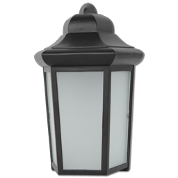 Picture of 9W LED EXTERIOR WALL LANTERN