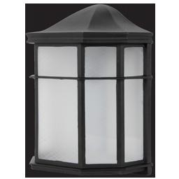 9W LED EXTERIOR WALL LANTERN