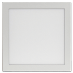 "Picture of 12"" SQUARE PANEL LED CEILING FIXTURE - WHITE"